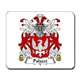 Palazzi Family Crest Coat of Arms Mouse Pad
