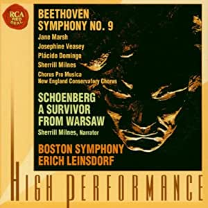 "Beethoven: Symphony No. 9 ""Choral""; Schoenberg: A Survivor from Warsaw, Op. 46"