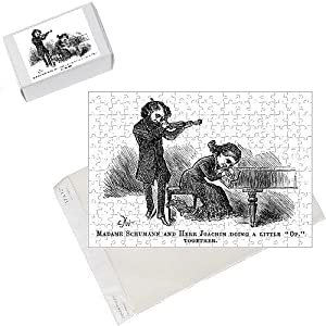 Photo Jigsaw Puzzle of Schumann a Joachim 1881 from Mary Evans