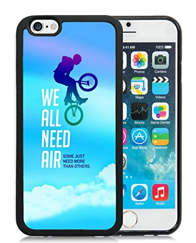 Case for Iphone 6S,SSOIU Iphone 6 Case Bmx Cycling Monster Red bull Energy Power Jump Street [4.7 inches Black TPU] (Iphone 6 Case Monster Energy compare prices)