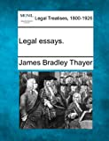 img - for Legal essays. book / textbook / text book