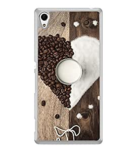 ifasho Coffee beans Back Case Cover for Sony Xperia Z4