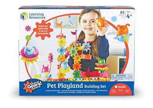 Learning Resources Gears Pet Playland Assorted Building Set JungleDealsBlog.com