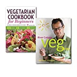 Rockridge Press Everyday Healthy Fresh Vegetarian Cookbooks Collection Set, (River Cottage Veg Every Day! (River Cottage Every Day) and [Paperback] Vegetarian Cookbook for Beginners: The Essential Vegetarian Cookbook to Get Started)