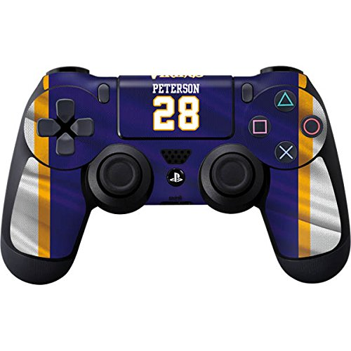 NFL - Adrian Peterson - Minnesota Vikings Skin for PlayStation 4 / PS4 DualShock4 Controller (Remove Card On Account compare prices)
