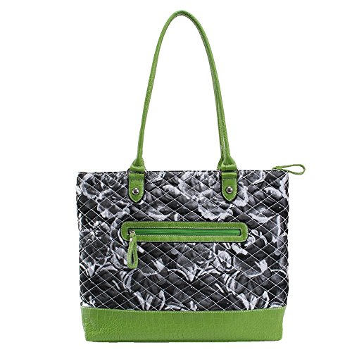 Parinda-Womens-Allie-Fabric-With-Faux-Leather-Tote