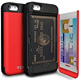iPhone5/5S/SE ケース TORU 手帳型 ミラースタンド 保護 カバー レッド iMODE 115STPUSKS-RD-FBA
