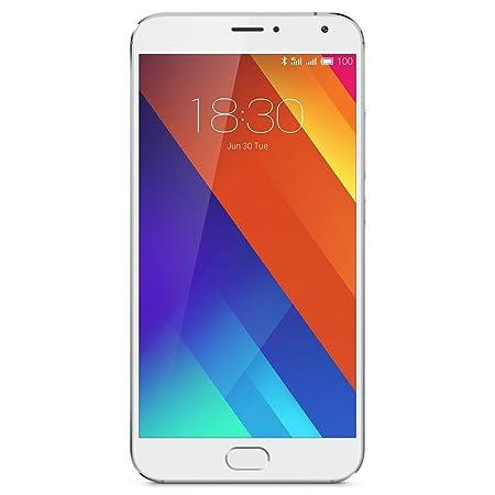 Meizu MX5 Smartphone débloqué 4G (Ecran: 5,5 pouces - 32 Go - Double Nano SIM - Android 5.0 Lollipop) Blanc