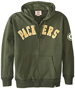 NFL Green Bay Packers Men's Striker Full Zip Jacket by Twins Enterprise/47 Brand
