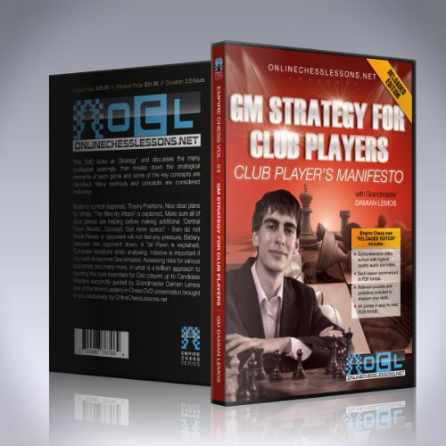 Gm Strategy For Club Players - Gm Damian Lemos - Empire Chess Vol. 53
