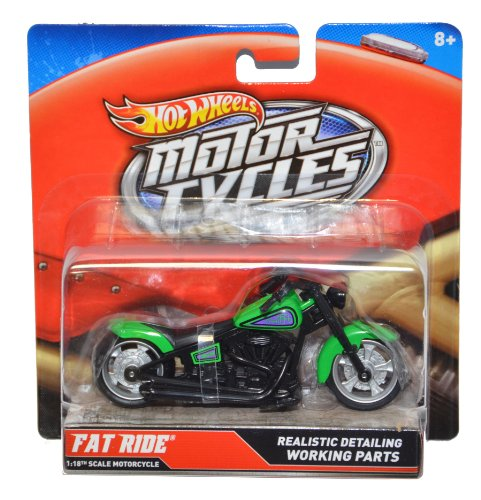 Hot Wheels Street Power Street Bikes - Fat Ride