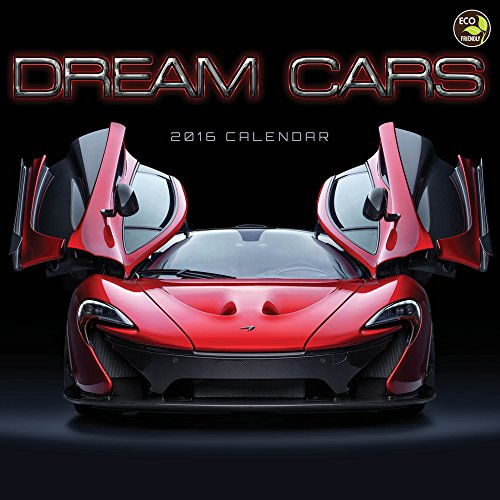 2016 Dream Cars Wall Calendar