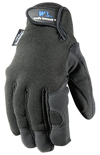 Wells Lamont Synthetic Leather Work Gloves, Men's, Insulated, Medium (7750M) (Mechanix Insulated Gloves Medium compare prices)