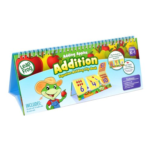 Leap Frog Adding Apples Addition Flip Book - 1
