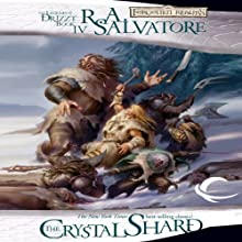 The Crystal Shard: Legend of Drizzt: Icewind Dale Trilogy, Book 1 (       UNABRIDGED) by R. A. Salvatore Narrated by Victor Bevine