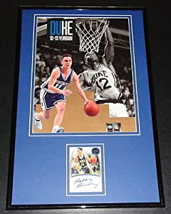 Buy Bobby Hurley Signed Framed 1992 Duke Yearbook Display PP by The Steel City Auctions Gallery
