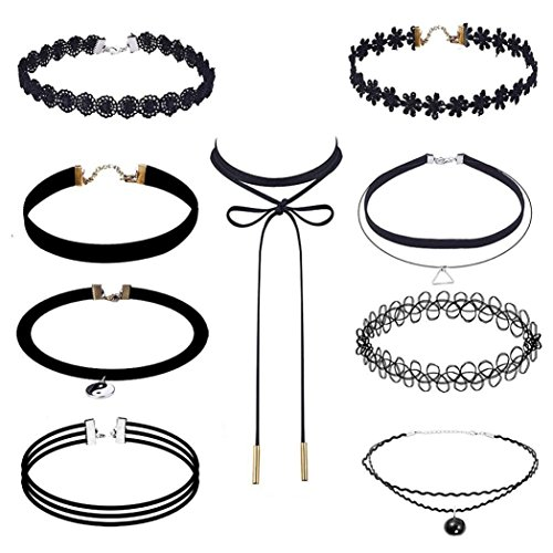 Fashion Elastic Choker Necklace
