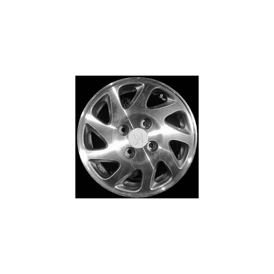 94 96 HONDA PRELUDE ALLOY WHEEL RH RIM 15 INCH, Diameter 15, Width 6.5 (9 SPOKE, PASSENGER SIDE), MACHINED FACE, Remanufactured (1994 94 1995 95 1996 96) ALY63743R10