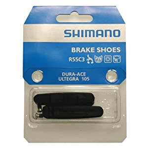 Shimano Dura Ace /Ultegra Brake Pad Inserts Pair BR-7800/6600 Black