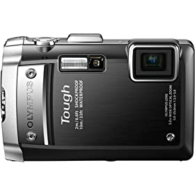 Olympus Tough 14 MP Waterproof Digital Camera with 5x Optical Zoom