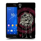 Head Case Designs Music Head Skull of Rock Protective Snap-on Hard Back Case Cover for Sony Xperia Z3