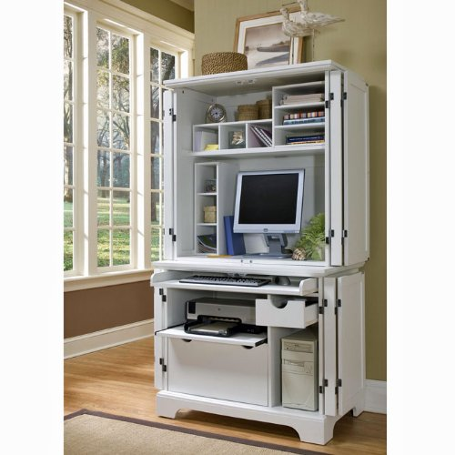 Buy Low Price Comfortable Naples Computer Armoire (B0041U141O)