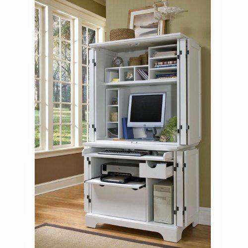 Buy Low Price Comfortable Naples Computer Armoire (B0041U141O)