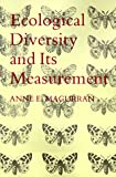 img - for Ecological Diversity and Its Measurement book / textbook / text book
