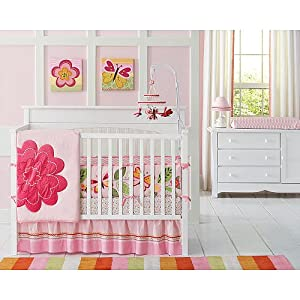 Butterfly Crib Bedding
