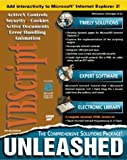 img - for VBScript Unleashed with CDROM book / textbook / text book