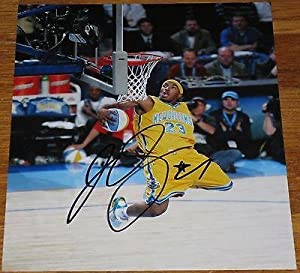 Signed JR Smith Photograph - 8x10 Authentic Autograph New York Knicks - Autographed... by Sports Memorabilia