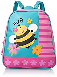 Stephen Joseph Little Girls\' Go Go Bag, Bee, One Size