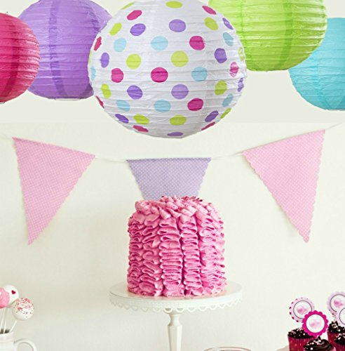 Bobee Paper Lanterns for Kids Birthday Party Supplies ...