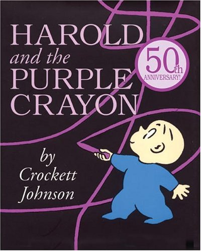 Harold and the Purple Crayon 50th Anniversary Edition (Harold & the Purple Crayon) (Hardcover)