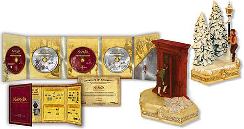 THE CHRONICLES OF NARNIA Limited Edition Bookends Gift