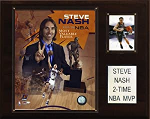 NBA Steve Nash 2 Time NBA MVP Phoenix Suns Player Plaque by C&I Collectables