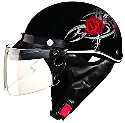 Studds Troy Sporting Helmet (Red Rose , L)