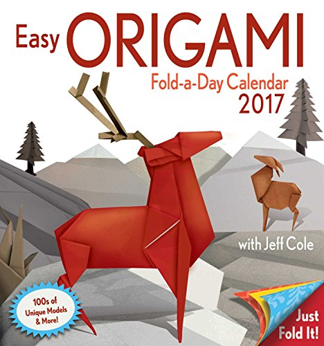 Easy Origami Fold-a-Day 2017 Calendar (Daytoday)