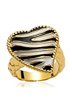 Just Cavalli Anillo Just Zebra (Dorado)