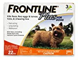 Merial Frontline Plus Flea and Tick Control for 0 to 22-Poun...