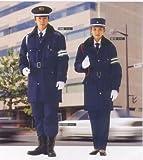 紳士・婦人用警備防寒コート(紺) 5300 Lサイズ