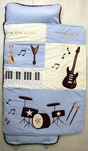 Soho Nap Mat ,Blue Rock Band(All Hand Embroidery) front-1055545