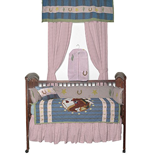 Patch Magic Lil Yeeehaw Crib Bedding