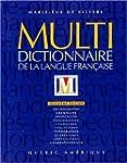 MULTI DICTIONNAIRE LANGUE FRANCAISE