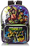 Nickelodeon Little Boys Teenage Mutant Ninja Turtles Backpack with Lunch, Multi, One Size