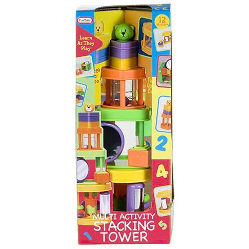 Fun Time Multi Activity Stacking Tower