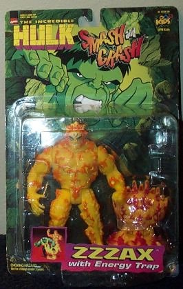 Smash and Crash the Incredible Hulk ZZZAX Action Figure