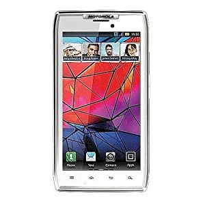 Motorola XT910 DROID RAZR Unlocked GSM Smartphone with 8 MP Camera, Android OS, Wi-Fi, and GPS - Unlocked Phone - No Warranty - White