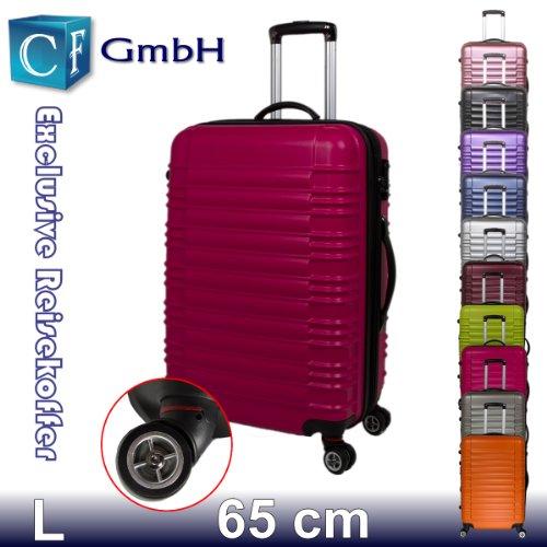 LG2088 Peach in Größe L Koffer Reisekoffer