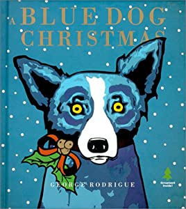 A Blue Dog Christmas from Stewart, Tabori and Chang